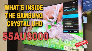 Samsung 2021 Crystal UHD TV UA…