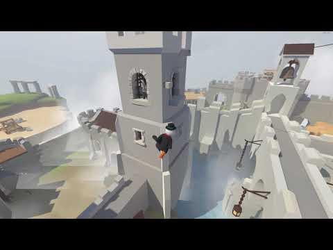 Human Fall Flat coop #3 El castillo,  bastión hueco?