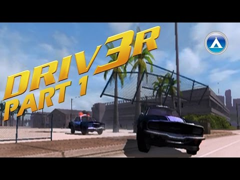 Driver 3 PS2 Gameplay Playthrough Part 1 HD