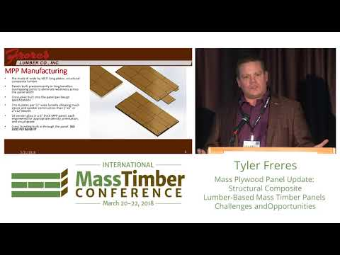 Mass Plywood Panel Update: Structural Composite Lumber-Based