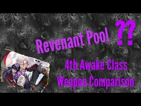 [Avabel Online] Revenant Pool Weapon Comparison