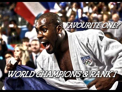 Favourite One? - World Champions & Rank 1 (Male Version) - JudoWorld柔道