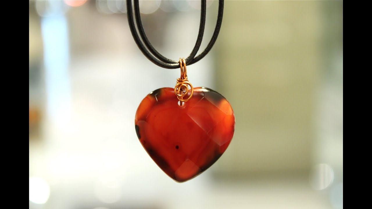 Wire Wrapped Heart Pendant Tutorial Center Opamp Linear Sawtooth Generator Circuit Diagram Tradeoficcom How To Wrap A Gems Bail Youtube Rh Com Wrapping Jewelry