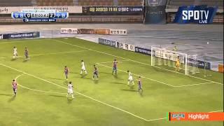 2015 K리그 챌린지 27R 강원FC vs 수원FC 하이라이트