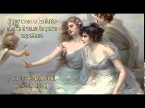 Everybody Loves Somebody with lyrics english italian