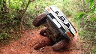 Trilha do Pinheirinho, Serra do Japi  - Troller T4 - Discovery - Ranger - Hilux SW4