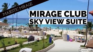 Majestic Mirage: Mirage Club Sky View Suite - Punta Cana, Dominican Republic