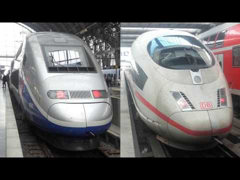 High-Speed Trains: SNCF TGV and DB ICE