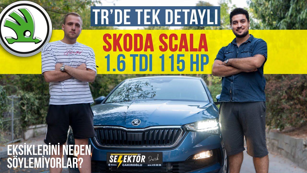 Skoda Scala Test Sürüşü - VW Golf'e alternatif olabilir mi?