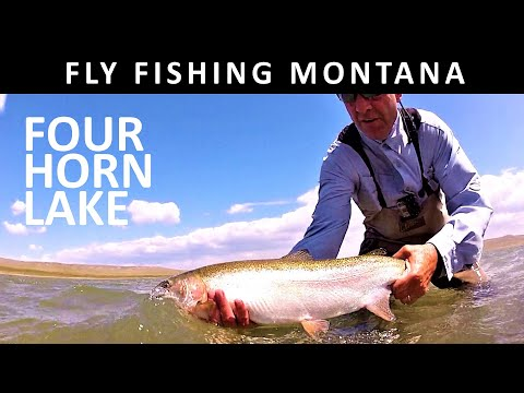 Fly Fishing Montana: Four Horn Lake (Blackfeet Reservation) -Trailer For Show Amazon Video Season 13