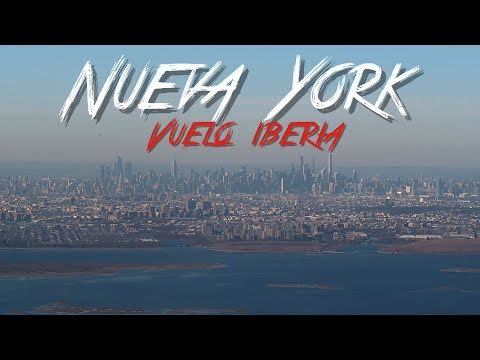 🇺🇸 VUELO IBERIA MADRID & NUEVA YORK - ESTADOS UNIDOS #1 - 2019 - Vlog, Turismo