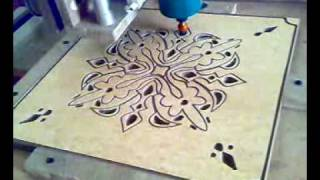 Home Made CNC Router From Saudi Arabia Part09