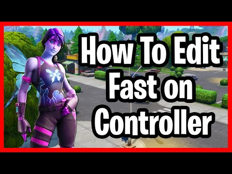 How To Get Better At Editing On Console! Fortnite How To Edit Faster On PS4! Console Editing Tips!