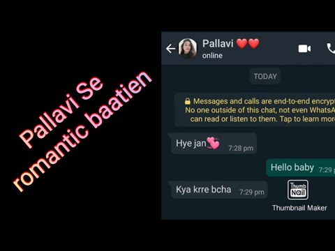 WhatsApp Chatting Full Sexy in Hindi || After $ex Full Chat