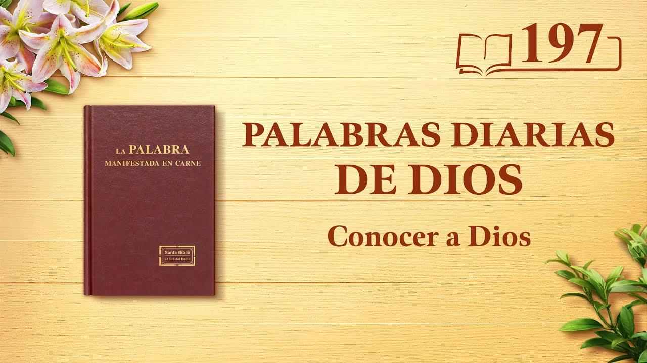 """Palabras diarias de Dios   Fragmento 197   """"Dios mismo, el único X"""""""