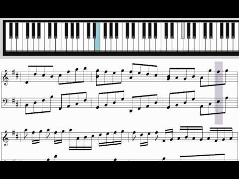 Learn Pachelbel's Canon in D major for Piano (tutorial)