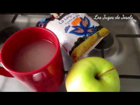 agua de avena para colesterol
