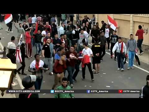 Egypt's league halted indefinitely after Zamalek fans clash with police