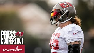 Ryan Jensen on the Offensive Line Gaining Momentum, Aaron Stinnie | Press Conference