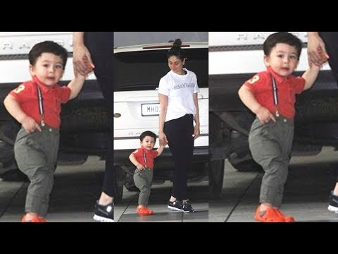 Taimur Ali Khan Poses Like Never Before...