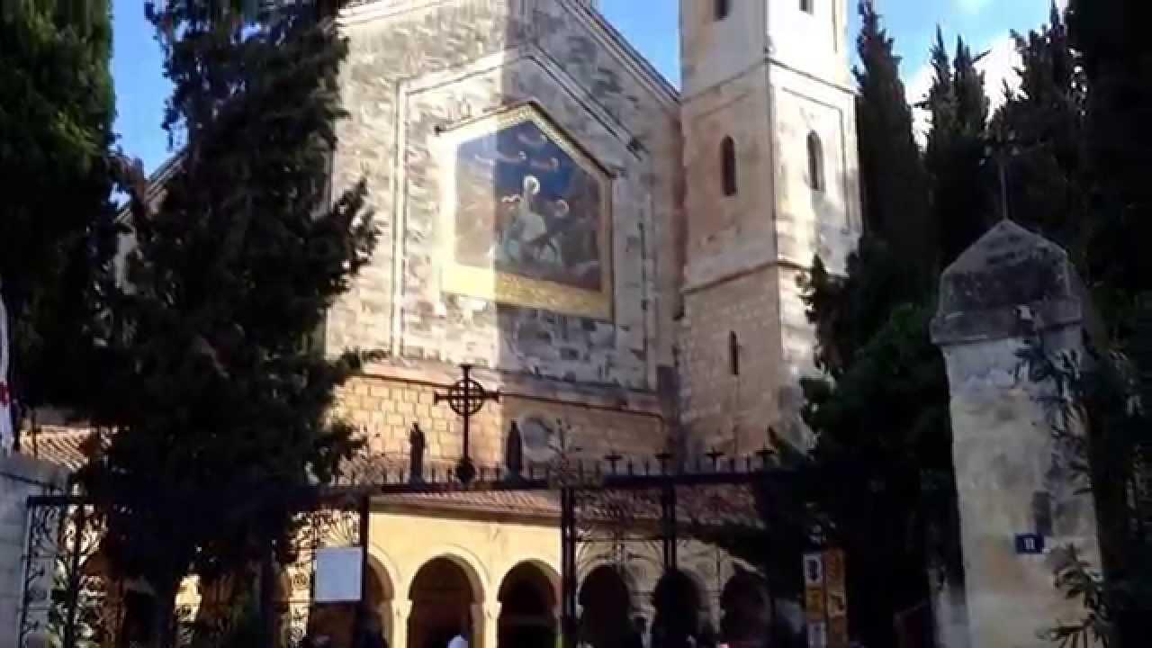 Ain Karem Lugar de La Visitación y Nacimiento de Juan Bautista - YouTube
