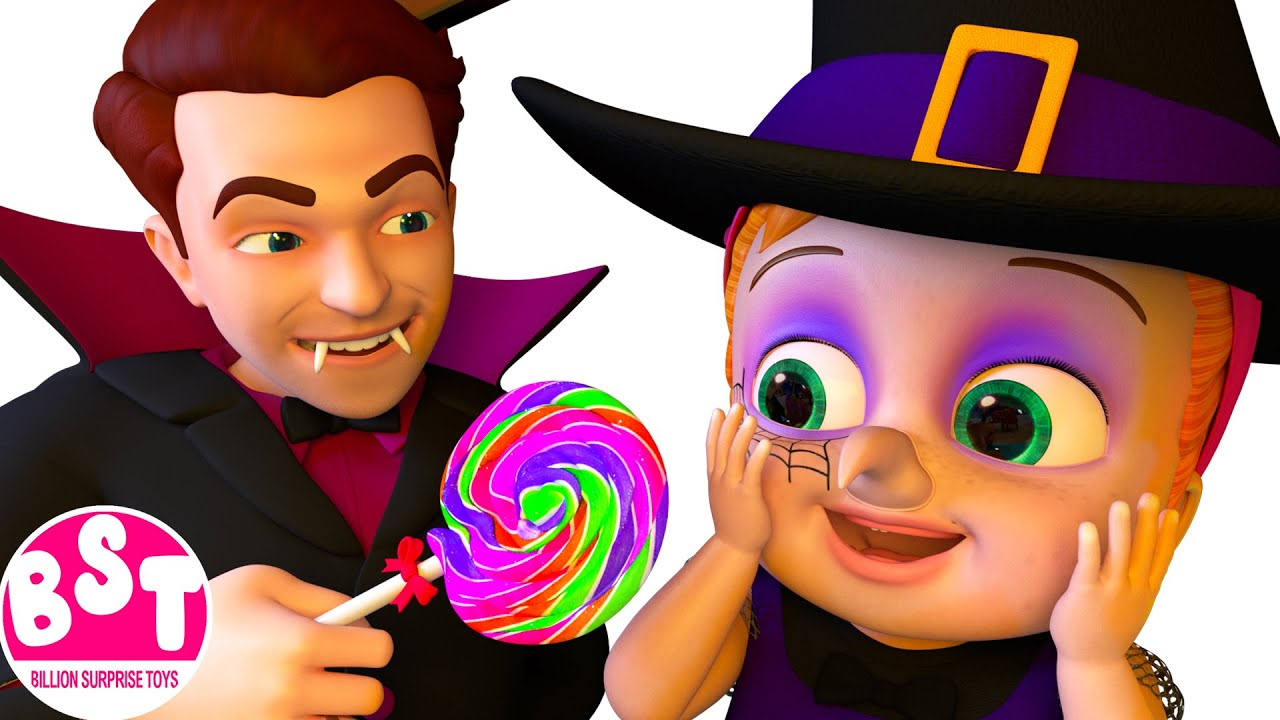 """Halloween """"Treat me with Candies""""   Stories for kids"""