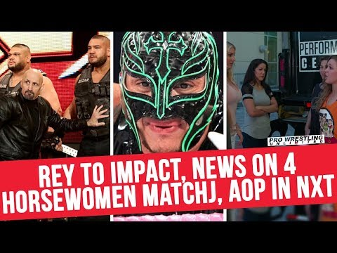 Update On Mysterio To Impact, News On 4 Horsewomen Match, Author's Of Pain Staying In NXT & More