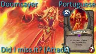 Doomsayer card sounds in 12 languages -Hearthstone✔