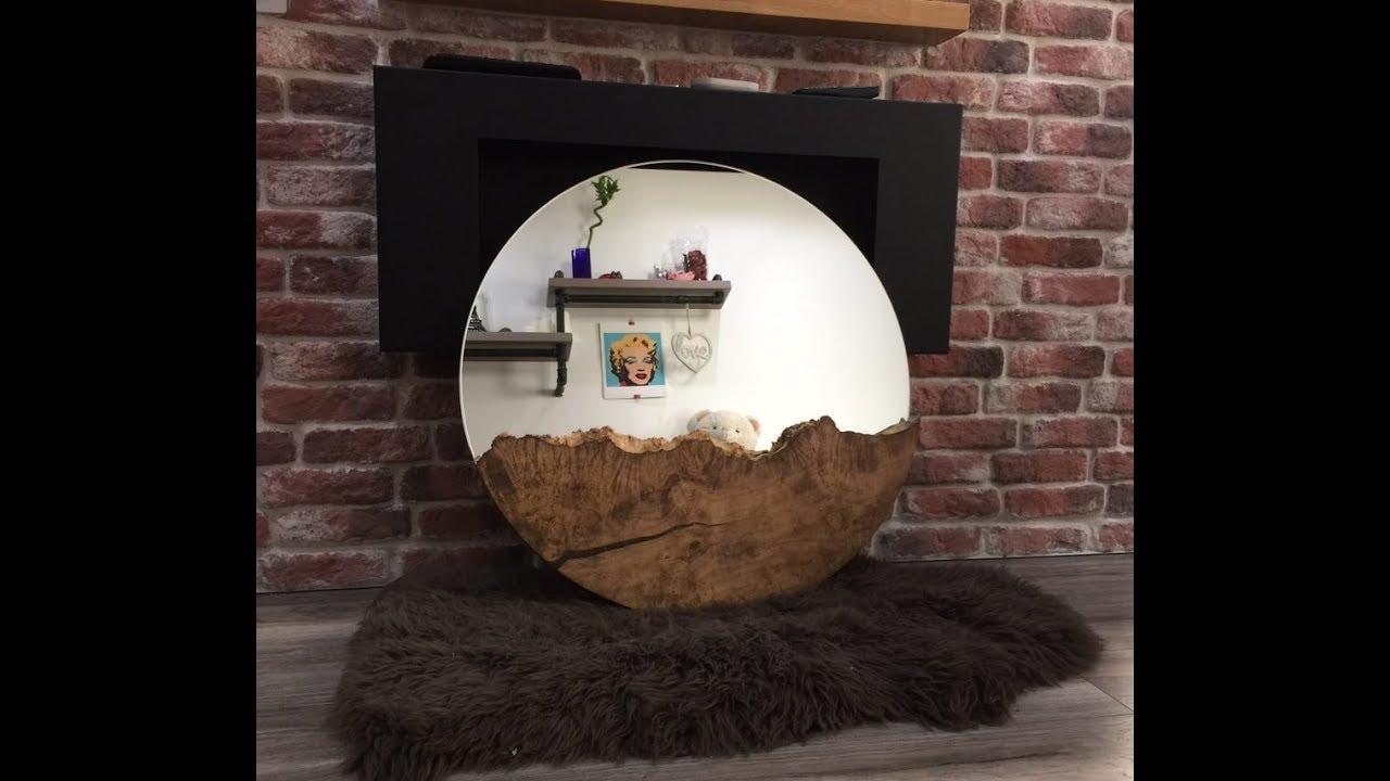 Дизайнерская мебель - Столы из горного тополя. - YouTube