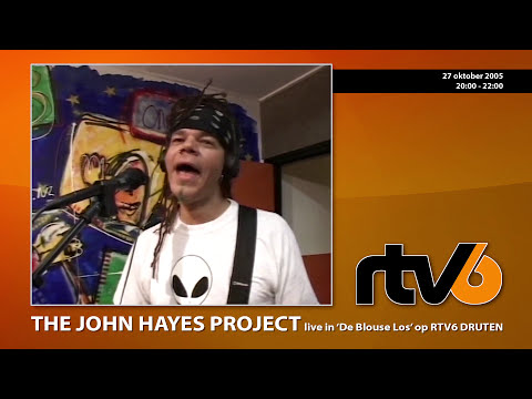 The John Hayes Project live @  RTV6 Druten