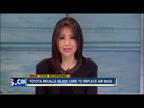 Toyota, Lexus issue new airbag recall