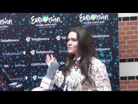 ESCKAZ live in Malmö: Dina Garipova Russia interview