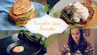 Diy: Pumpkin Spice Pancakes | Baking With Aline Ep. 2