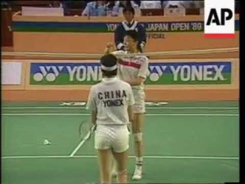 1989 Japan Open Badminton Featuring Yang Yang Vs Foo Kok Keong Youtube