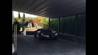 Cristiano Ronaldo shows his new car BUGATTI CHIRON