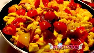 Ackee and Cod Fish (Jamaica's National Dish)