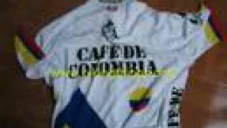 Cafe de Colombia Bike jersey, colombia cycling, road bike