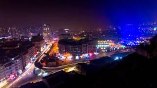 Tophane Gece-Bursa  (timelapse)