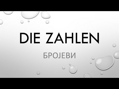 Deutsch lernen A1 - ZAHLEN 1 - 1000 from YouTube · Duration:  14 minutes 40 seconds