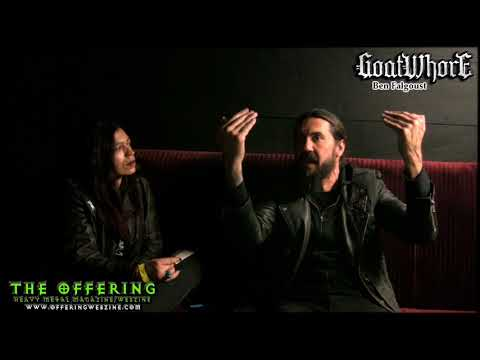 GoatWhore Interview with Ben Falgoust II May 2018