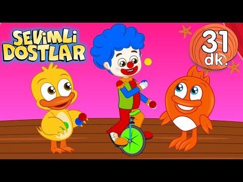 Palyaço şarkısı | Sevimli Dostlar Bebek Şarkıları | Adisebaba TV Kids Songs and