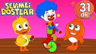 Palyaço şarkısı | Sevimli Dostlar Bebek Şarkıları | Adisebaba TV Kids Songs and Nursery Rhymes