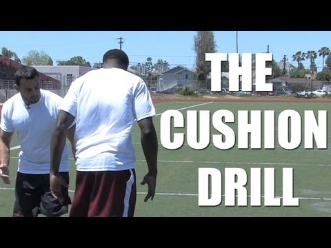 Football Safety Tips: How to do the Cushion Drill with Steve Gregory