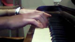 Calvin Harris - I'm Not Alone on piano