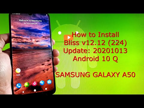 BlissRoms v12.12 (224) 20201013 for Samsung Galaxy A50 Android 10 Q