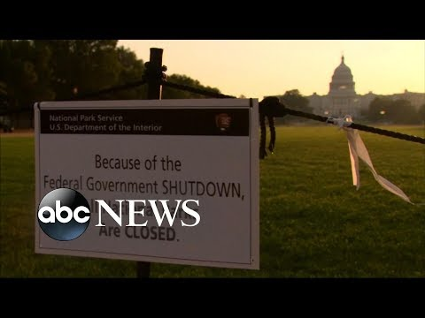 Latest on the government shutdown