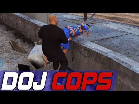 Dept. of Justice Cops #520 - Hitting Up The Block