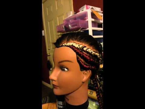 Ghana cornrows(show and tell)