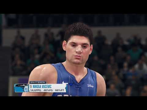 NBA LIVE 18: ORLANDO MAGIC VS CHARLOTTE HORNETS