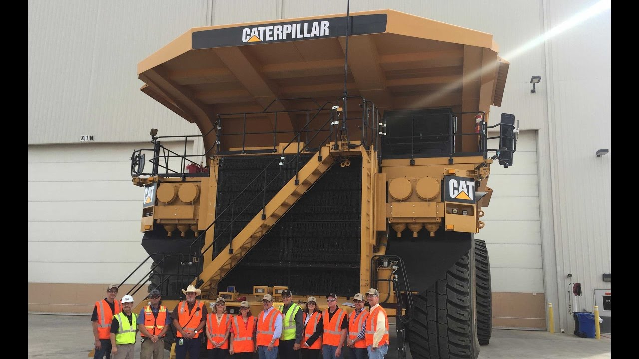 Tucson News Now Caterpillar Shows Off For State Officials Tucson
